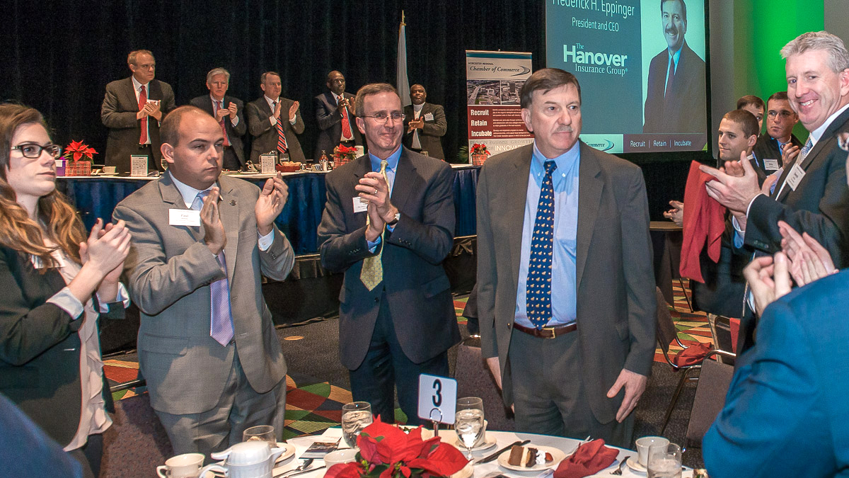Thanks to Frederick H. Eppinger of The Hanover for all of his contributions to Worcester