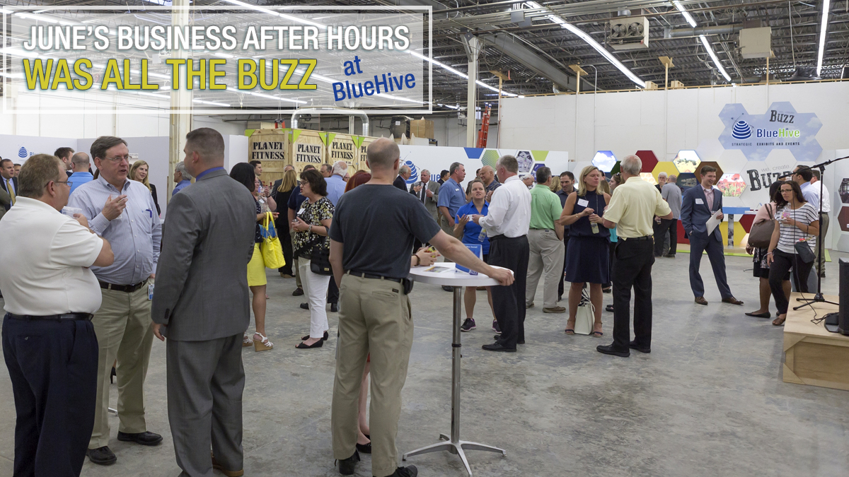 The Crowd at June's Business After Hours Enjoyed a Unique Setting