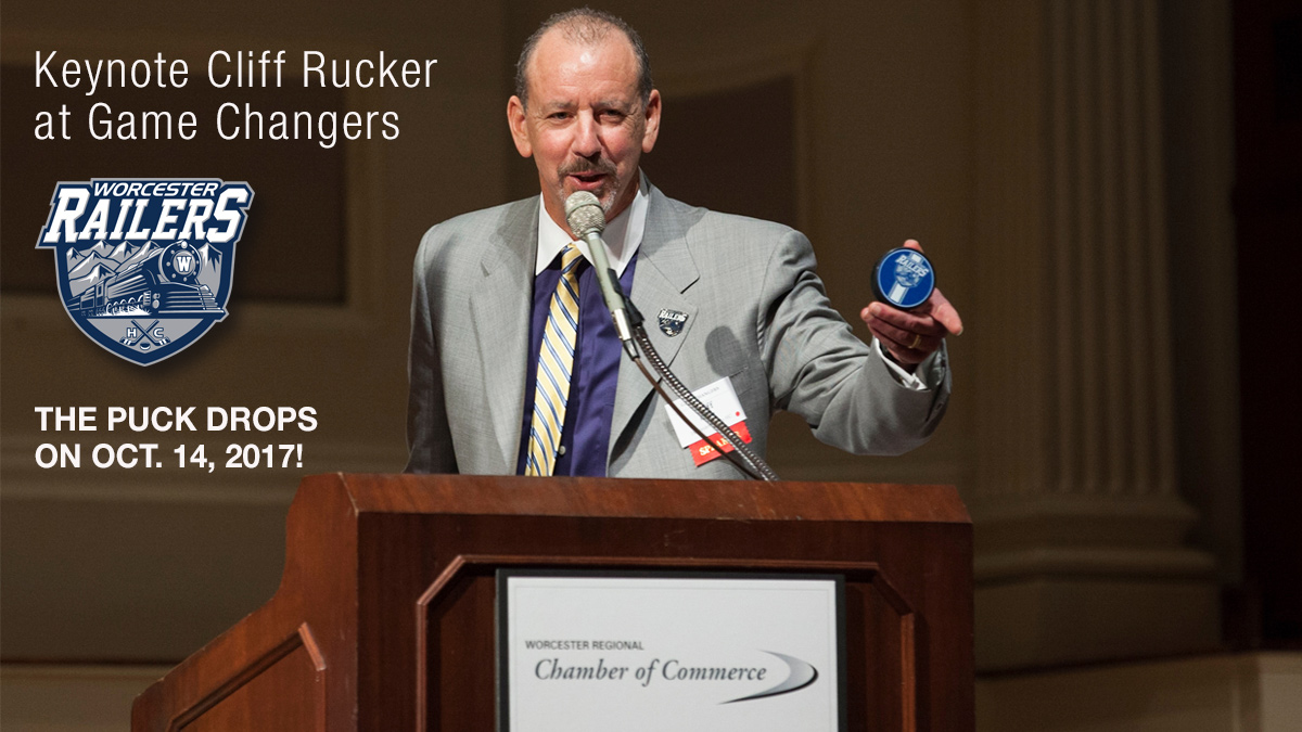 Worcester Railers Owner Cliff Rucker