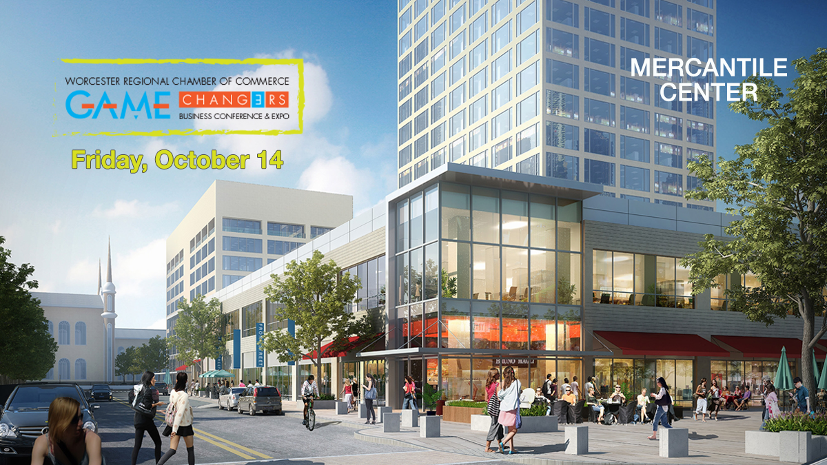 Mixed use space at Mercantile Center is helping to create a vibrant downtown - learn more at Game Changers!