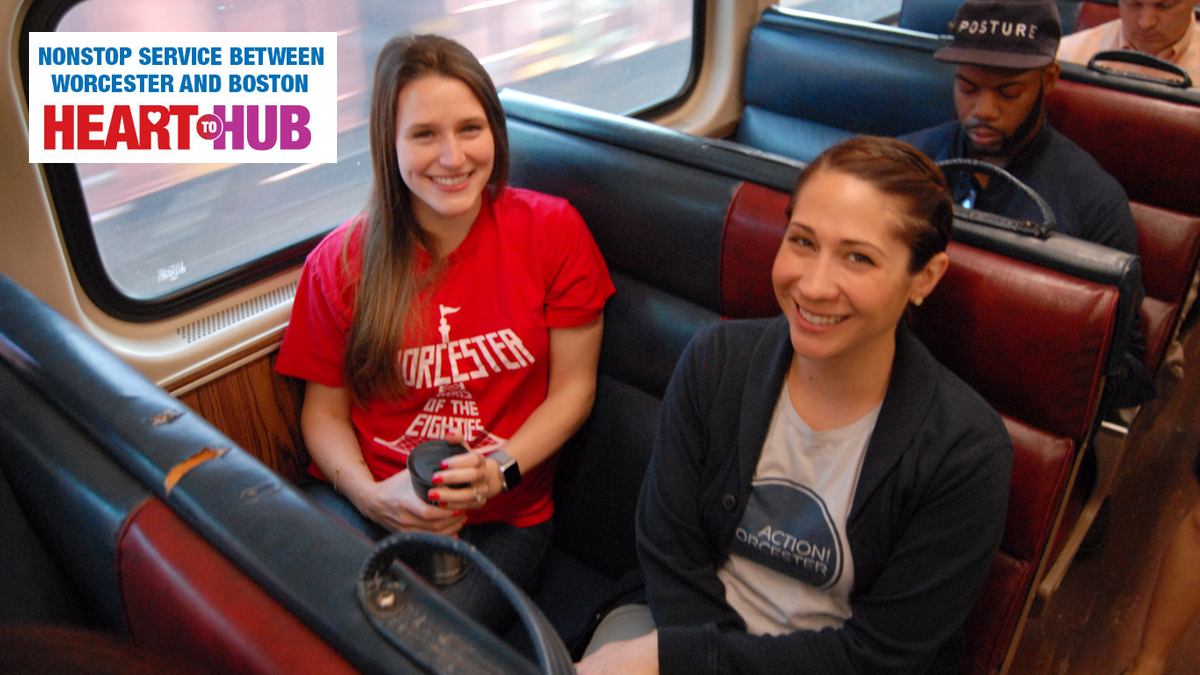 Heart to Hub offers non-stop, express train from Worcester to Boston