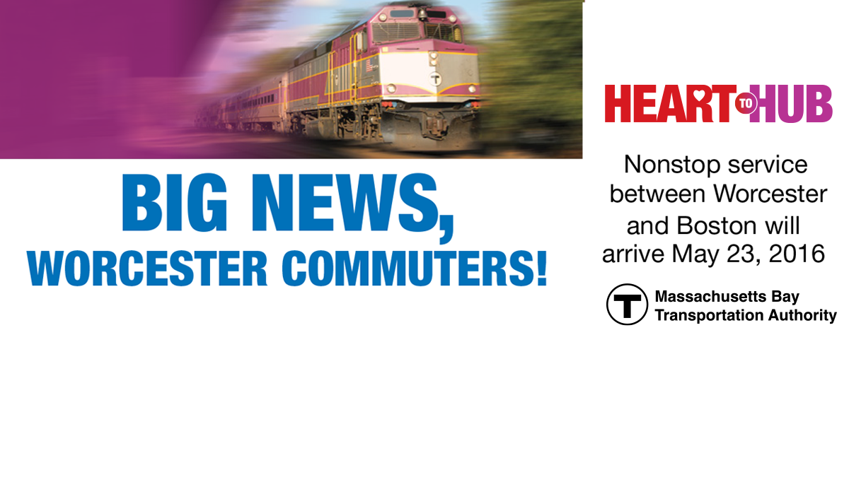 HeartToHub Offers Non-Stop Service from Worcester to Boston
