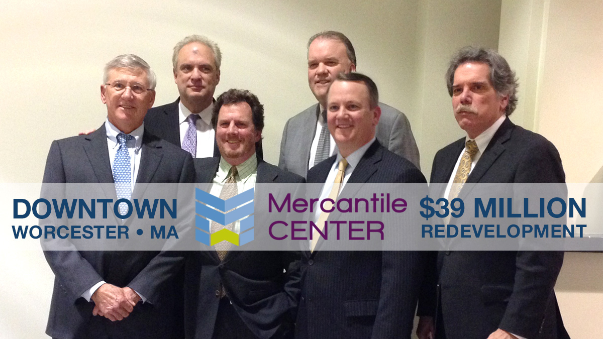 Mercantile Center Invests in Downtown Worcester