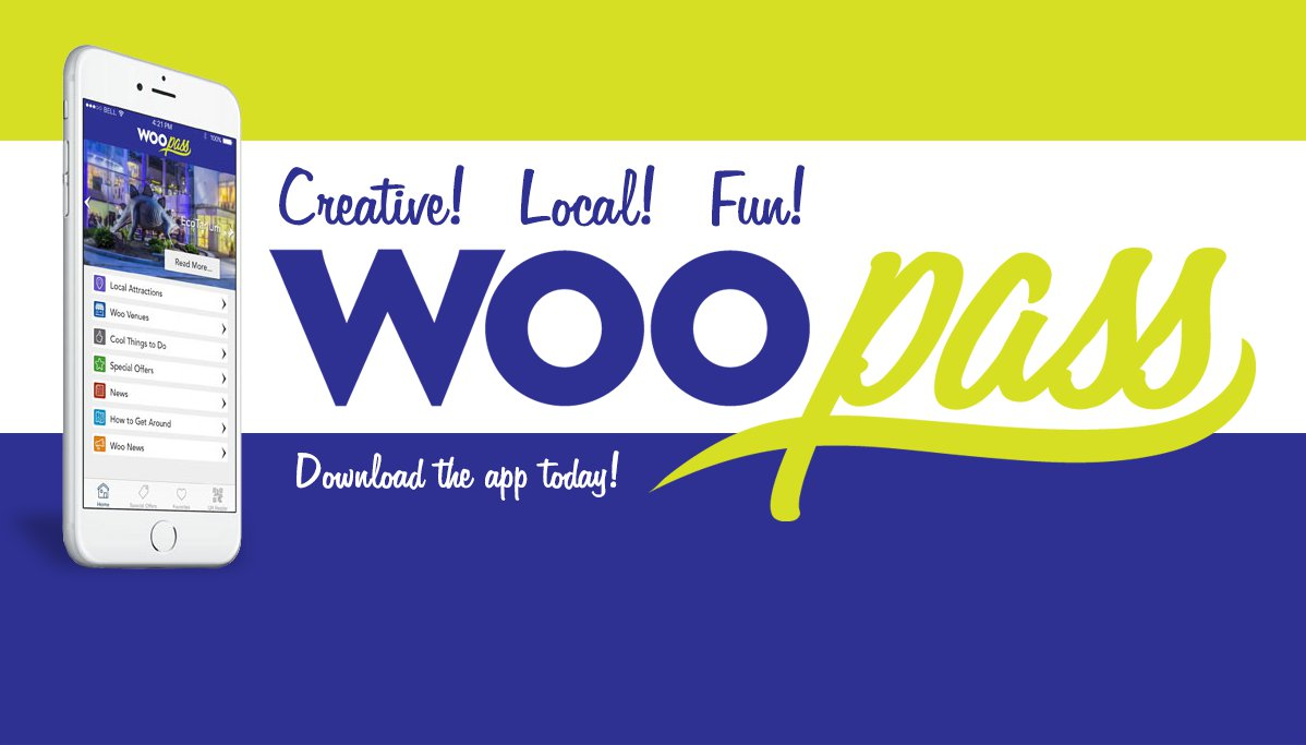 Woo Pass for Your Smartphone!