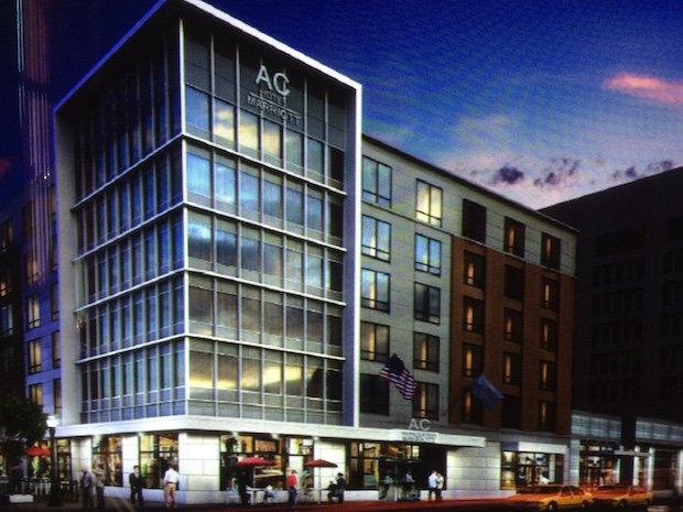 Ac Hotel Marriott Parking
