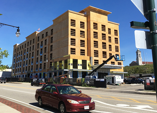 The Hotel Is Has A Convenient Central Location Adjacent To Union Station Downtown And Shrewsbury Street Worcester S Restaurant Row