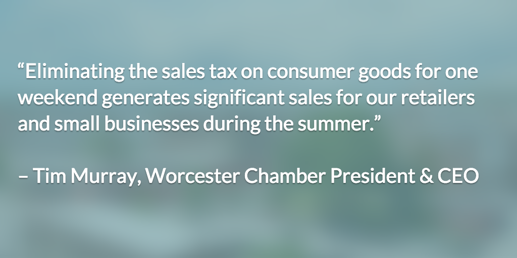 tax holiday worcester chamber