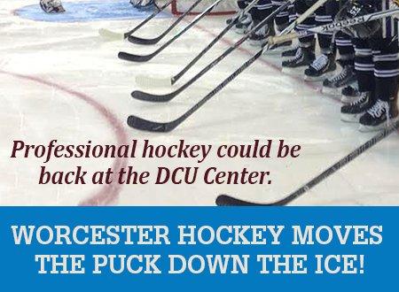 Hockey Returns to Worcester