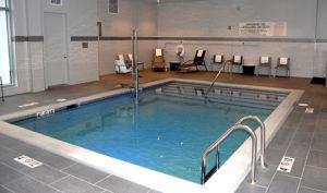 Hampton Inn Pool Area