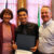 2019 Worcester Youth Leadership Institute Graduate Xavier Aviles poses with Dr. Mattie Castiel, City of Worcester's commissioner of Health and Human Services, and Timothy P. Murray, president and CEO of the Worcester Regional Chamber of Commerce, upon receiving his certificate. Photo by Dominique Goyette-Connerty.