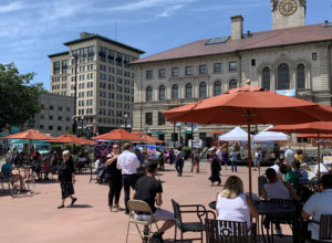 Worcester is bustling. An op-ed written by Chamber President & CEO Timothy P. Murray summarizing recent and ongoing economic development in Worcester was published by Banker & Tradesman in late August. / IMAGE COURTESY BANKER & TRADESMAN