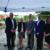 Left to right: Craig Blais, Worcester Business Development Corporation; Rep. Kim Ferguson, R-1ST Worcester; Peter Lukes, Town of Holden; Tim Quinn, Quinn's Blue Plate; and Kristin Sawash, UniBank. Photo courtesy WBDC.