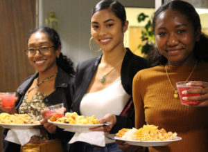 Family members and friends of the 18 graduates of the Worcester Regional Food Hub's Launching Diverse Entrepreneurs in Worcester program gathered Monday evening to celebrate the group's culinary accomplishments. / PHOTO BY EMILY GOWDEY-BACKUS