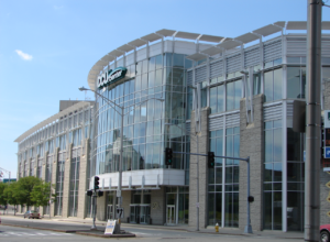 The DCU Center is one of the main entertainment hubs in Central Mass. Home of the Worcester Railers, the facility curates a culturally rich schedule for residents. / PHOTO FROM CHAMBER ARCHIVES