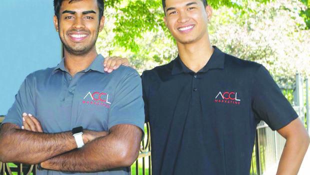 Avyay Chaganty (left) and Cody Lavallee (right). / PHOTO COURTESY ACCL MARKETING